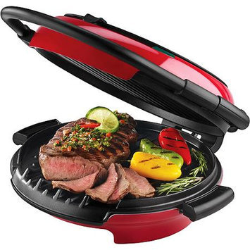 Applica George Foreman GRP106QPGR 360 Next Grilleration Grill, Red
