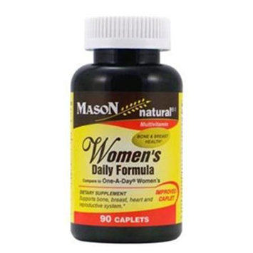 Women's Daily Formula, 90 Caplets, Mason Natural