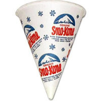 Sport Supply Group 5GM1060 Sno-Kones Cups - 5000/case 6 oz.