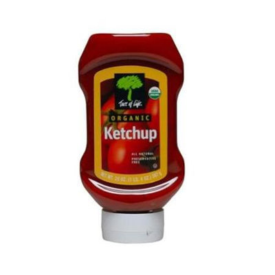 Tree Of Life Ketchup Sqz Gluten Freewf Invrtd O 20 Oz