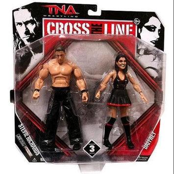 Dr. Stevie & Daffney - TNA Cross The Line 2-Packs 3 Toy Wrestling Action Figures