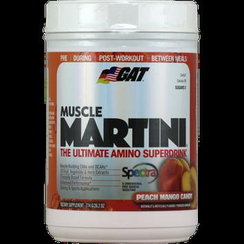 GAT Muscle Martini Peach Mango Candy - 774 g