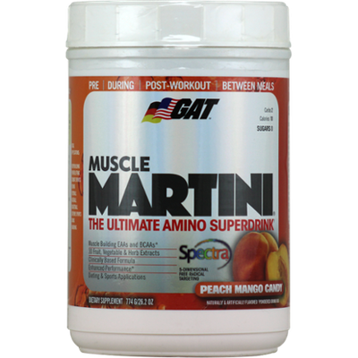 GAT Muscle Martini Peach Mango Candy - 774 g