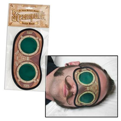 Accoutrements Steampunk Polyester Sleep Mask
