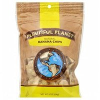 Plentiful Planet Fruit Banana Chip Bag 10 OZ (Pack of 6)