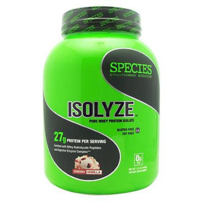Species Nutrition Isolyze Cherry Vanilla - 44 Servings