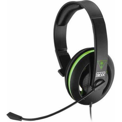 Turtle Beach Ear Force Recon 30x Chat Communicator Headset For Xbox One - Mono - Mini-phone - Wired - Over-the-head - Monaural - Circumaural (tbs-2308-01)