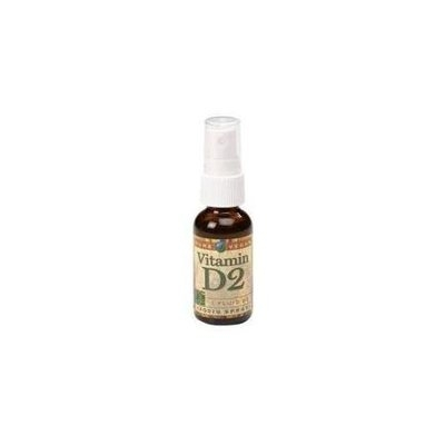 Pure Vegan - D2 Spray 400 IU - 1 oz.
