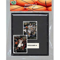 Candicollectables Candlcollectables 67LBNETS NBA Brooklyn Nets Party Favor With 6 x 7 Mat and Frame