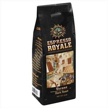 Espresso 12 oz. Verona Dark Roast Coffee Beans - Case Of 6