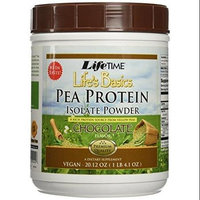 Pea Protein Isolate Chocolate LifeTime 20.12 oz Powder