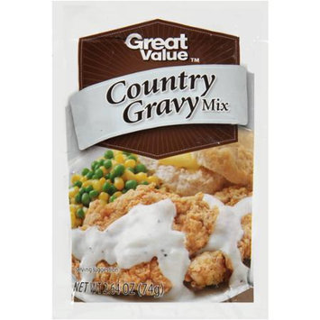 Great Value: Country Style Gravy Mix, 2.64 oz