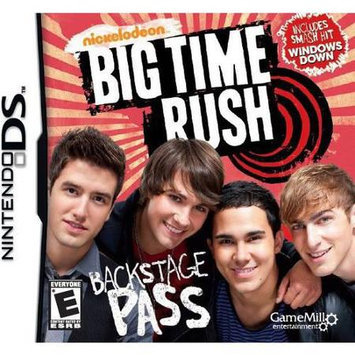 Gamemill Big Time Rush Video Game for Nintendo DS