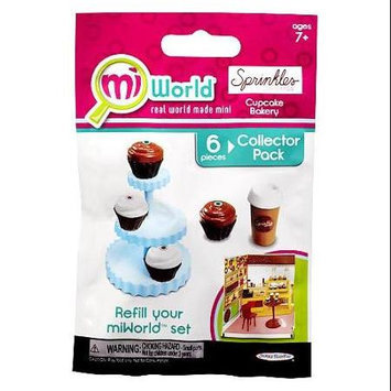 Jakks Hk Ltd. Mi World Collector Pack - Sprinkles Cupcake Bakery - 4 Cupcakes, 1 Cupcake Tower and 1 Coffee Cup with Lid