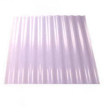 Tuftex SeaCoaster 2.17-ft x 8-ft Corrugated PVC Roof Panel 1211A