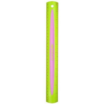 Acme Furniture Acme ACM14370 Anti Bacteria 12In Kids Soft Touch Ruler
