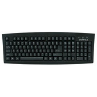 Seal Shield SSKSV108CZ Silver Seal Washable Medical Grade Keyboard - Dishwasher Safe & Antimicrobial