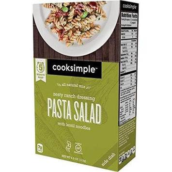 Cooksimple 4 oz. Zesty Ranch Dressing Pasta Salad Case Of 6