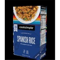 Cooksimple 4 oz. Spanish Rice Side Case Of 6