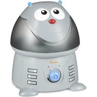 Crane - Chip The Robot 1 gal. Ultrasonic Cool Mist Humidifier - Gray