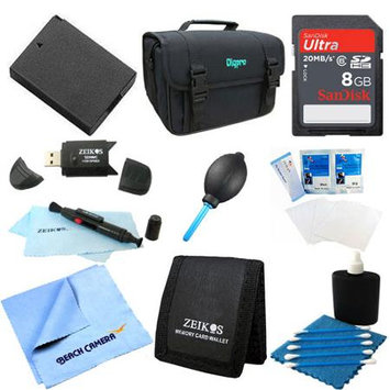 Special Fully Loaded Value 8GB Card and LP-E10 Battery Kit for Canon EOS Rebel T3