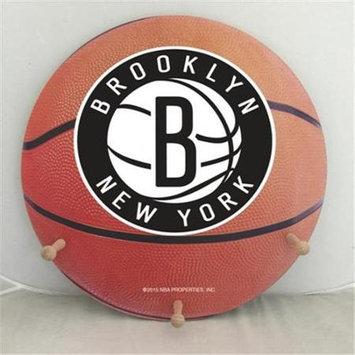 Coopersburg Sports CRN-N NBA Sports Licensed Team Pennant Coat Rack - Brooklyn Nets