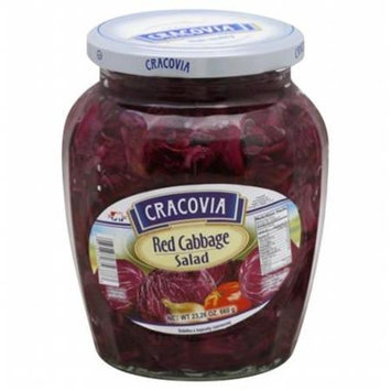 Kehe Distributors CRACOVIA 201823 CRACOVIA CABBAGE SALAD RED - Case of 12 - 23.26 OZ
