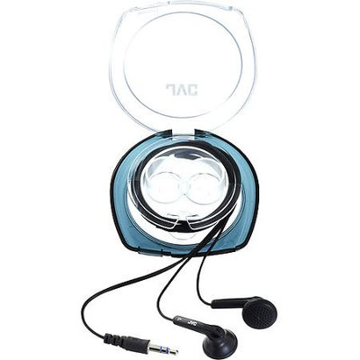 JVC HA-F10C-A Earbuds With Hard Carrying Case, Blue