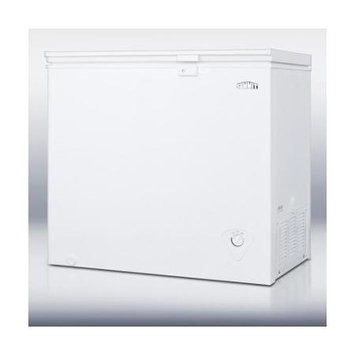 Summit Appliances CF07L 7 cu. ft. manual defrost chest freezer with lock