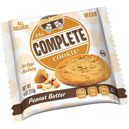 Lenny & Larry's The Vegan Complete Cookie Peanut Butter 12 Cookies