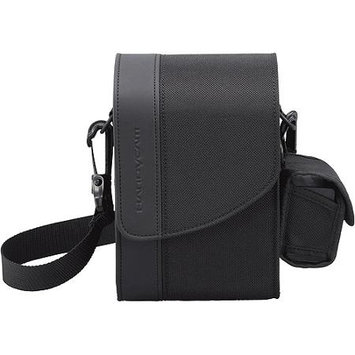 Sony LCS-HAB Camcorder Case - Polyester, PU Leather - Black
