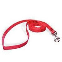 Aspen Pet 15006 - 4'X5/8 inch Nylon Red Leash