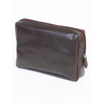Scully H640-04-25 Hidesign By Scully Female Chocolate Cosmetic Bag