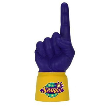 Bretthand LAL-JA-WNBA-123 La Sparks Licensed Yellow Jersey Sleeve with Purple
