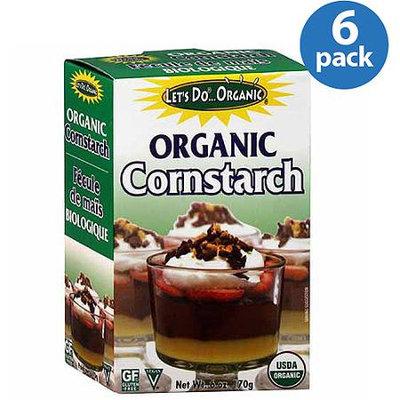 Let's Do. Organic Cornstarch, 6 oz, (Pack of 6)