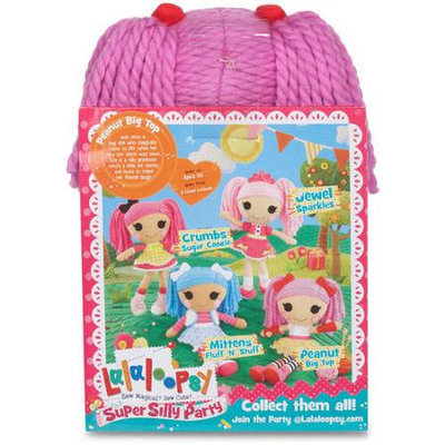 Lalaloopsy Super Silly Party Peanut Big Top Crochet Doll
