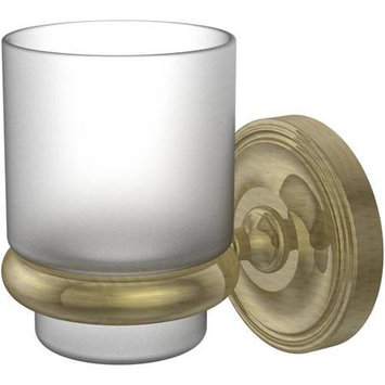 Allied Brass Universal Wall Mounted Tumbler Holder Finish: Antique Brass