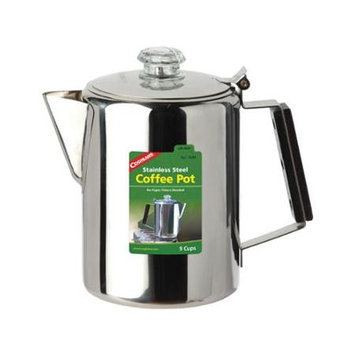 Coghlans Stainless Steel Coffee Pots - 9 Cup