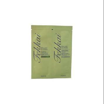 Frederic Fekkai U-HC-10067 Brilliant Glossing Shampoo & Conditioner Duo for Unisex 2 x 0.3 oz