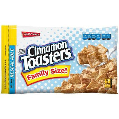 Malt-O-Meal: Family Size Cinnamon Toasters Cereal, 25.5 Oz
