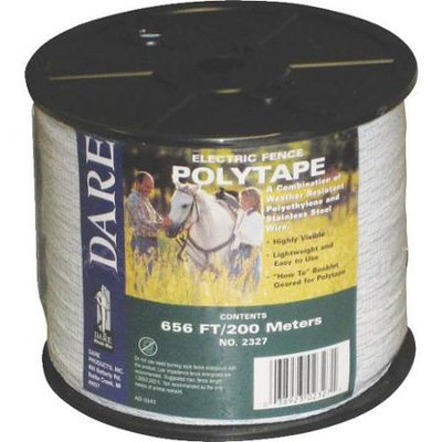 Dare Prod. 656 Foot 1/2 Inch Poly Tape 2327 by Dare