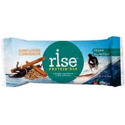 Rise Protein Plus Bar - Sunflower Cinnamon - 2.1 oz - Case of 12 - 1521699