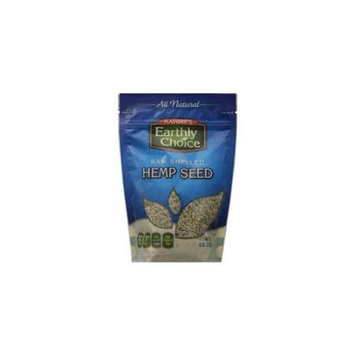 Natures Earthly Choice Hemp Seed Raw Shelled 8 Oz Pack Of 6