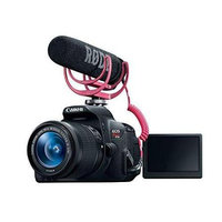 Canon EOS Rebel T5i Video Creator Kit w/ Lens, Rode VideoMic, and Sandisk 32GB SD Card