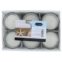 Candle csgfc 1.5 Oz. Fresh Cotton Glass Jar Votives Candle 6 Pack