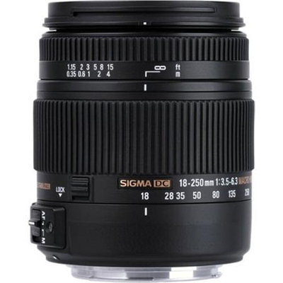 Sigma 883962 18-250mm f/3.5-6.3 Telephoto Zoom Lens