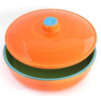 Uno Casa UC-003 8 in. Tortilla Warmer Ceramic Casserole Dish