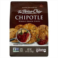 The Better Chip 6.4 oz. Chipotle Whole Grain Chips - Case Of 12