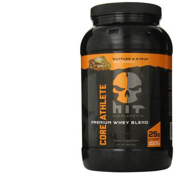 HIT Supplements - Core Athlete Premium Whey Blend Waffles & Syrup - 904.29 Grams