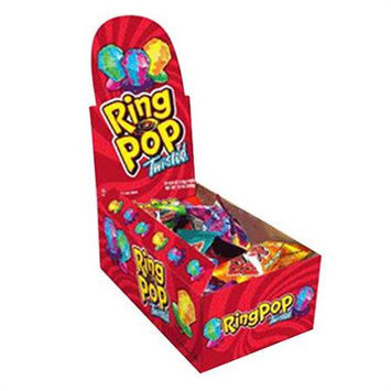 Twisted Ring Pop, .5oz, 24 Ring Pops/order
